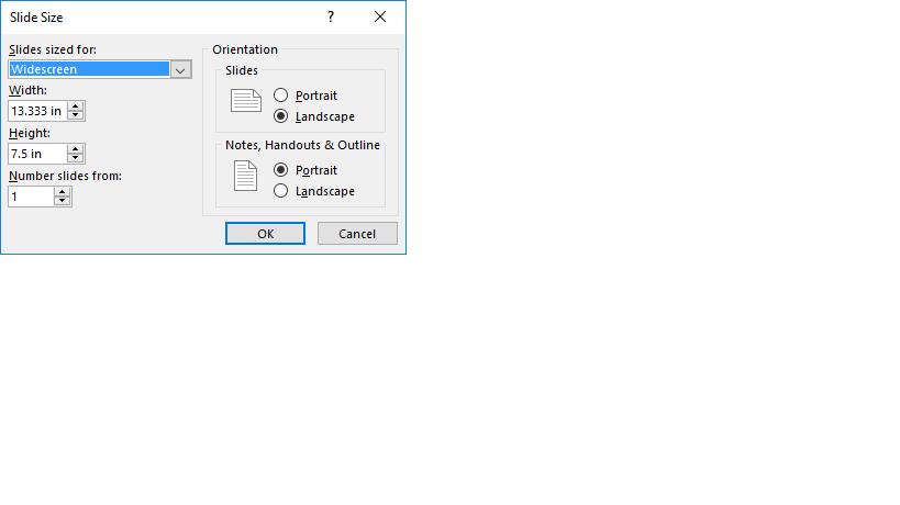 PowerPoint Display Orientation