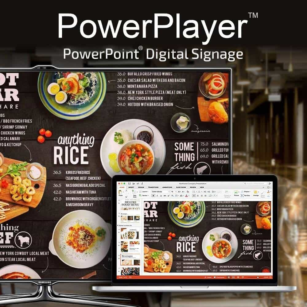 Display Powerpoint On Your Tv Powerpoint Digital Signage