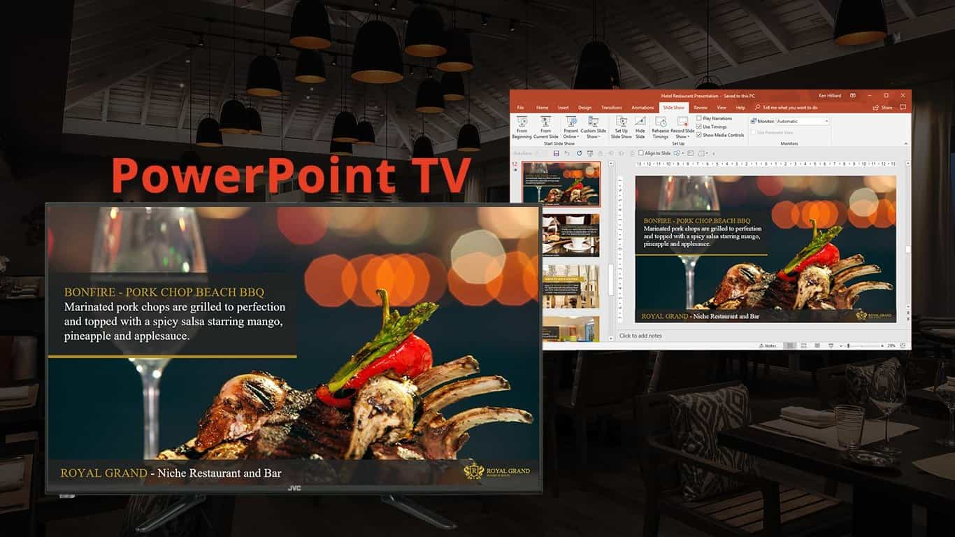 How To Play PowerPoint On TV