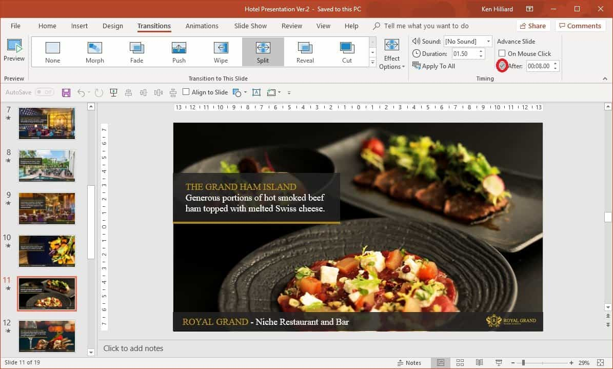 Make PowerPoint Self-running
